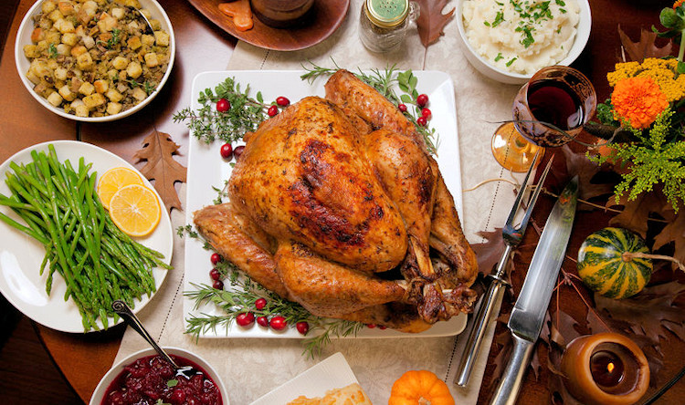 Gourmet Thanksgiving Dinner Delivered  Send a Meal Prepared Dinner Delivery Food Gifts Meals