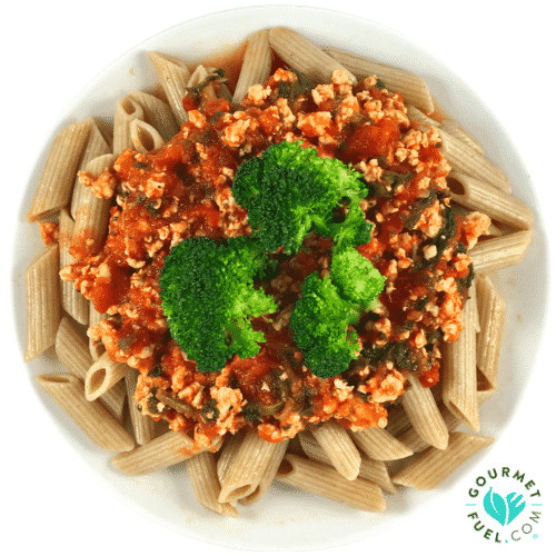 Gourmet Thanksgiving Dinner Delivered  Turkey Ragu with Broccoli & Brown Pasta