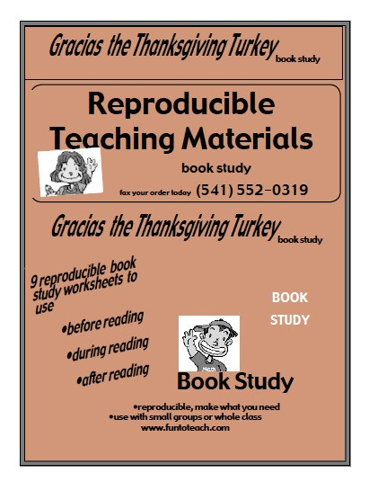 Gracias The Thanksgiving Turkey  Gracias The Thanksgiving Turkey – Guided Reading lesson