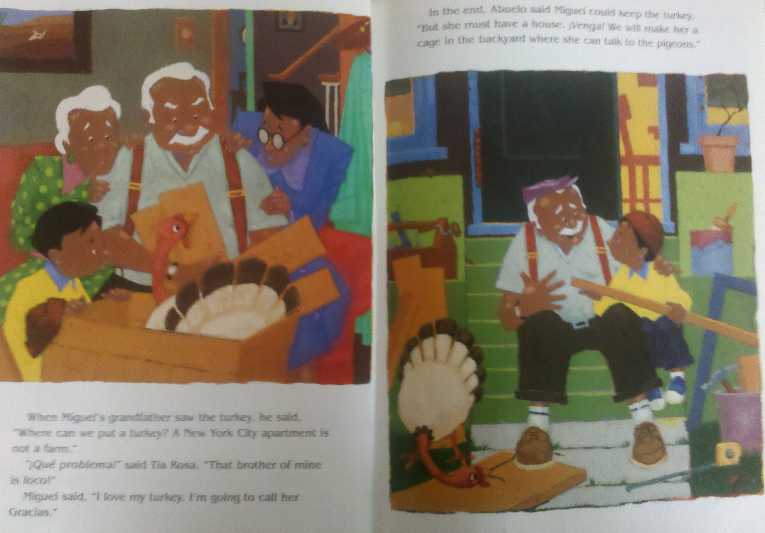 Gracias The Thanksgiving Turkey  Book Review Gracias The Thanksgiving Turkey Children s
