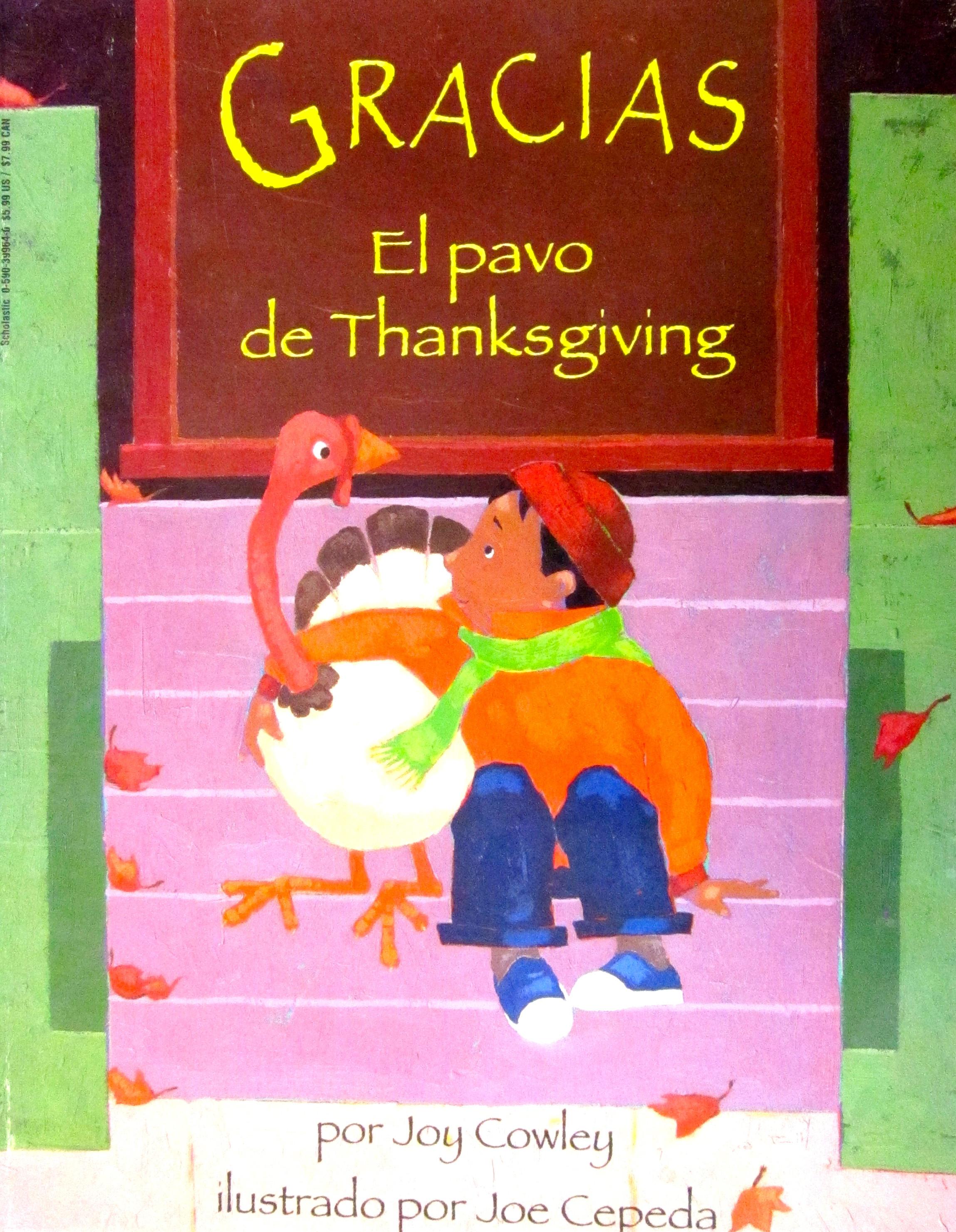 Gracias The Thanksgiving Turkey  Best Thanksgiving Books