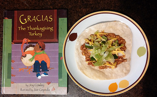 Gracias The Thanksgiving Turkey  Gracias for a Great Book and Turkey Tacos