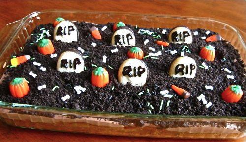 Graveyard Cakes Halloween  Graveyard Cake Recipe