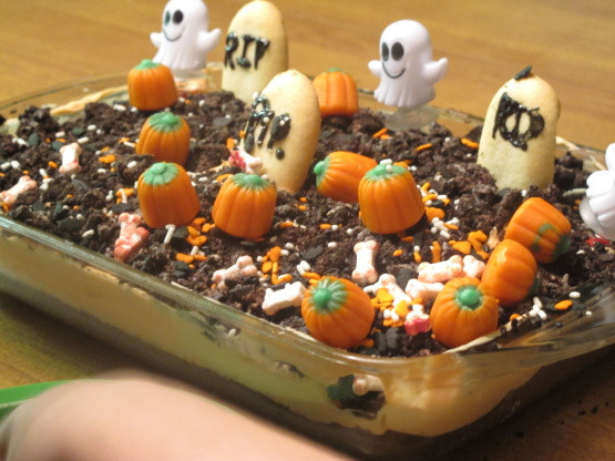 Graveyard Cakes Halloween  Halloween Graveyard Cake – Festival Collections