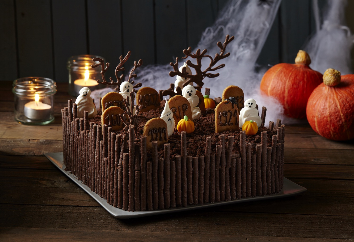 Graveyard Cakes Halloween  9 Frighteningly Cute Ways to Dress Up Your Halloween