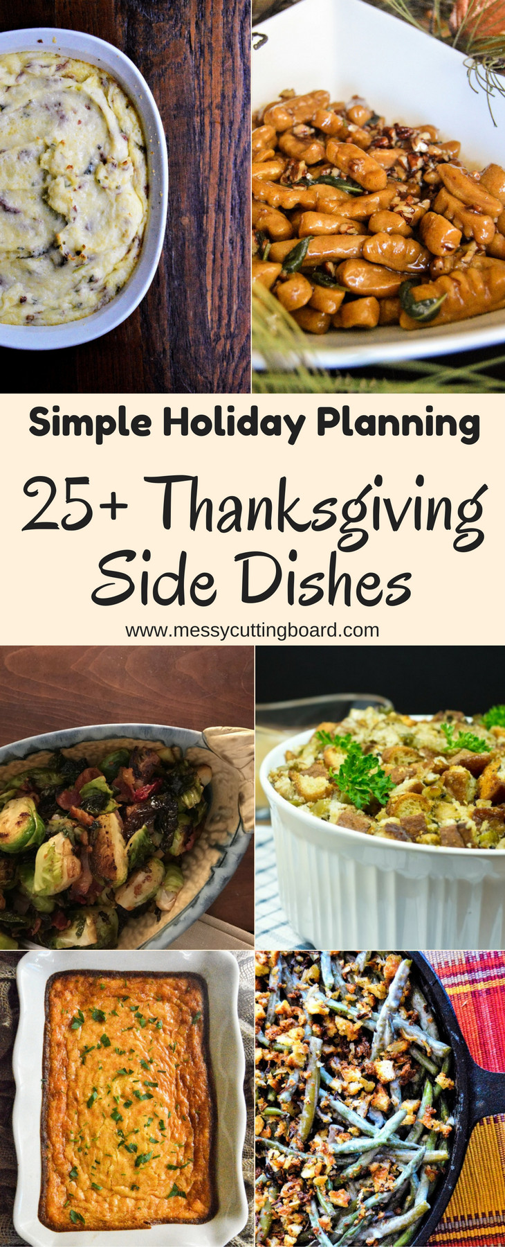 Gravy Thanksgiving Side Dishes  The Ultimate List of Thanksgiving Side Dishes Messy