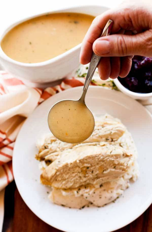 Gravy Thanksgiving Side Dishes  Turkey Gravy • Food Folks and Fun