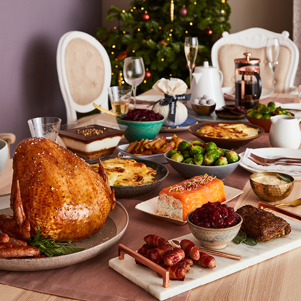Great Christmas Dinners  The Great Christmas Dinner Booths Christmas Food & Drink