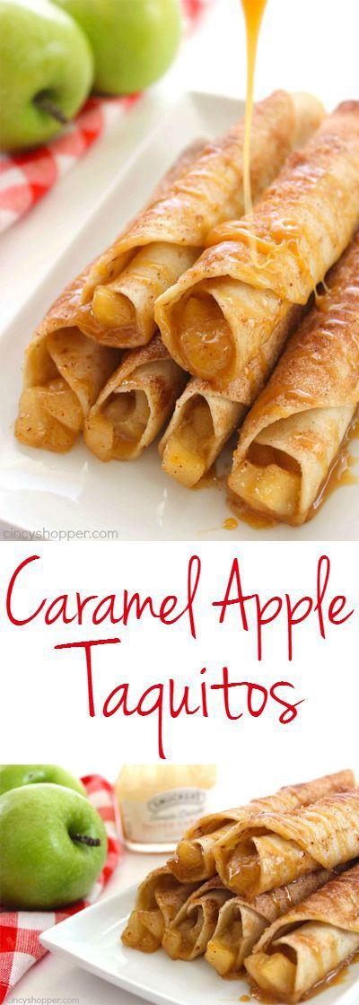 Great Fall Desserts  Best 25 Tortilla dessert ideas on Pinterest