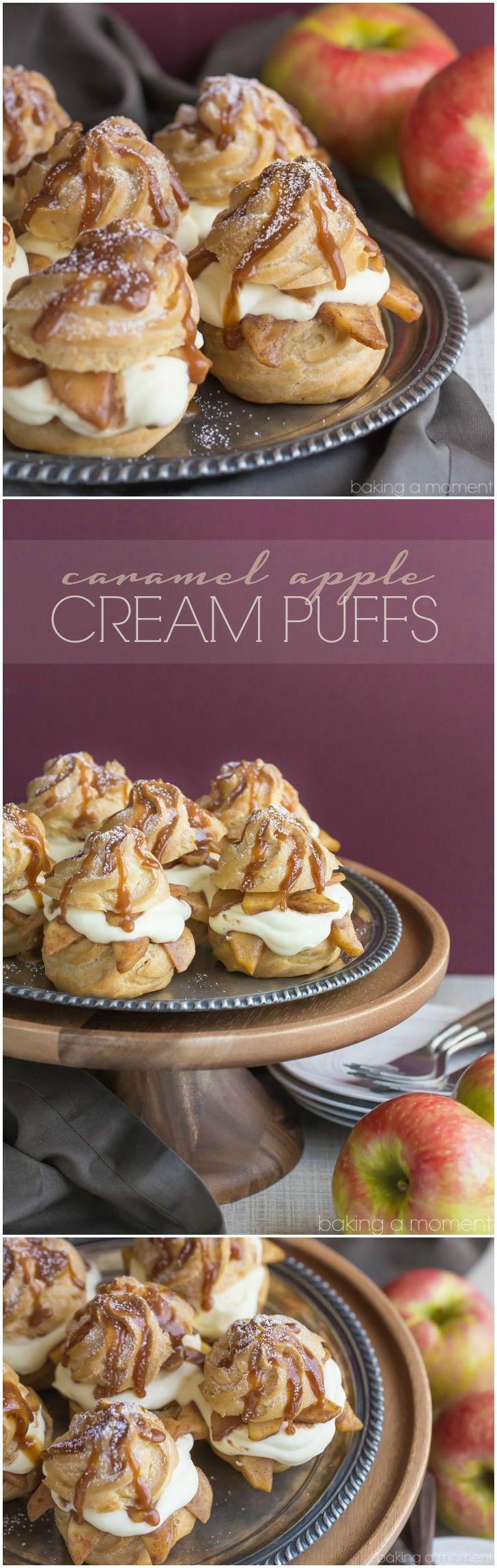 Great Fall Desserts  Best 25 Recipe for cream puffs ideas on Pinterest