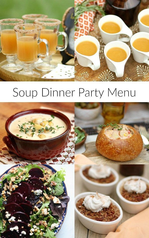Great Fall Dinners  Best 20 Dinner Party Menu ideas on Pinterest
