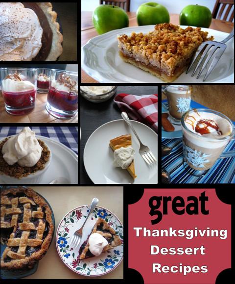 Great Thanksgiving Desserts  Great Thanksgiving Dessert Recipes Good Cheap Eats