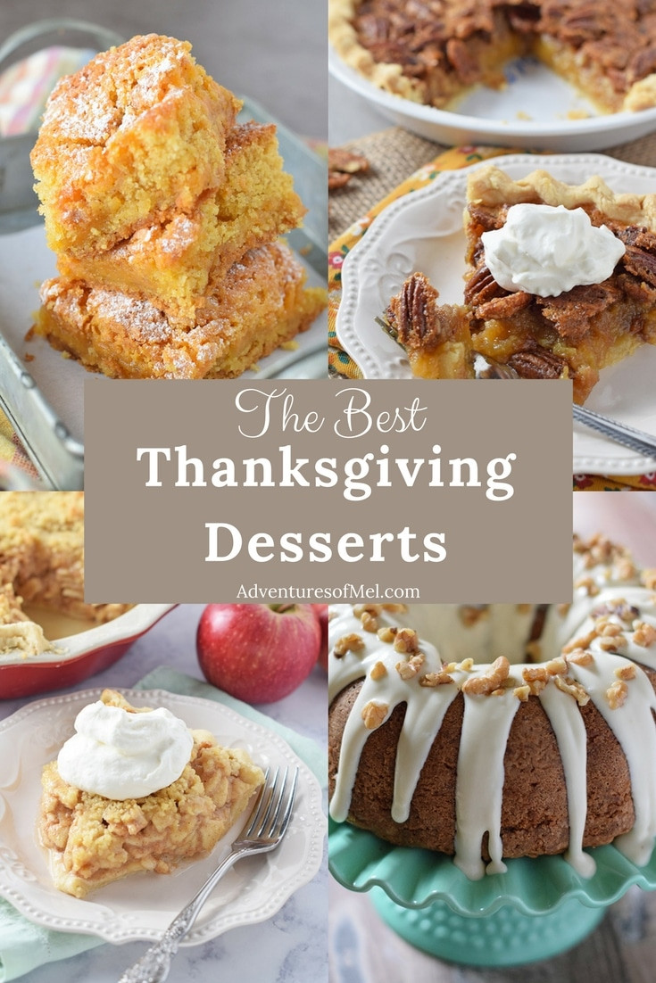 Great Thanksgiving Desserts  The Best Thanksgiving Recipes for Your Holiday Menu