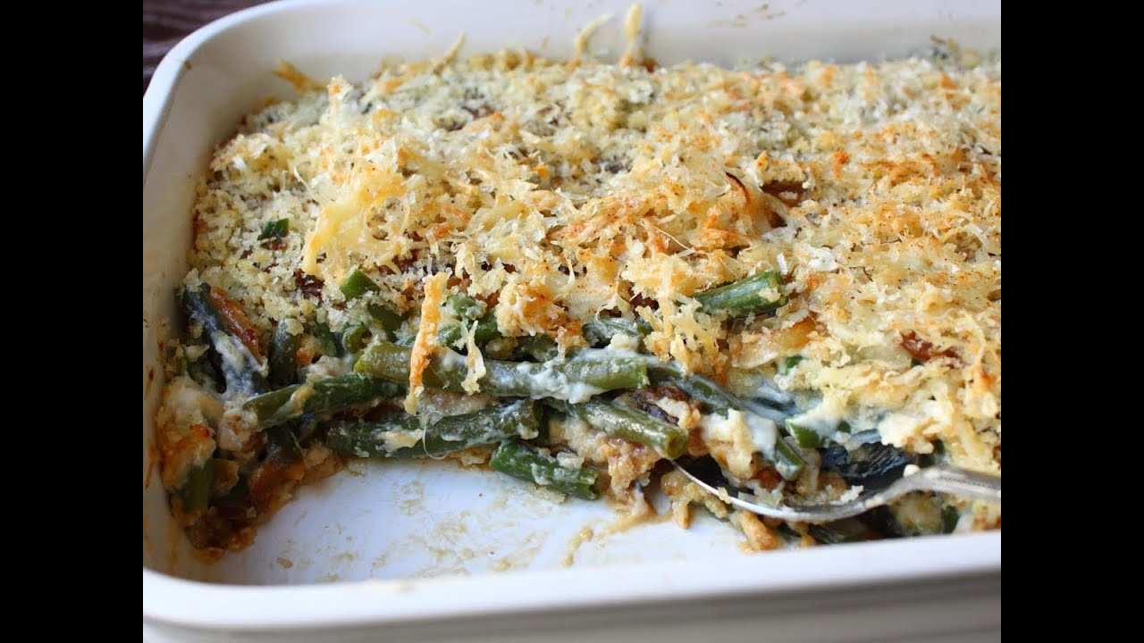 Green Bean Casserole Thanksgiving  French ion Green Bean Casserole Recipe Thanksgiving