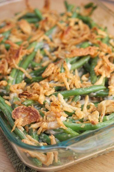 Green Bean Casserole Thanksgiving  Thanksgiving Classic Green Bean Casserole This is a