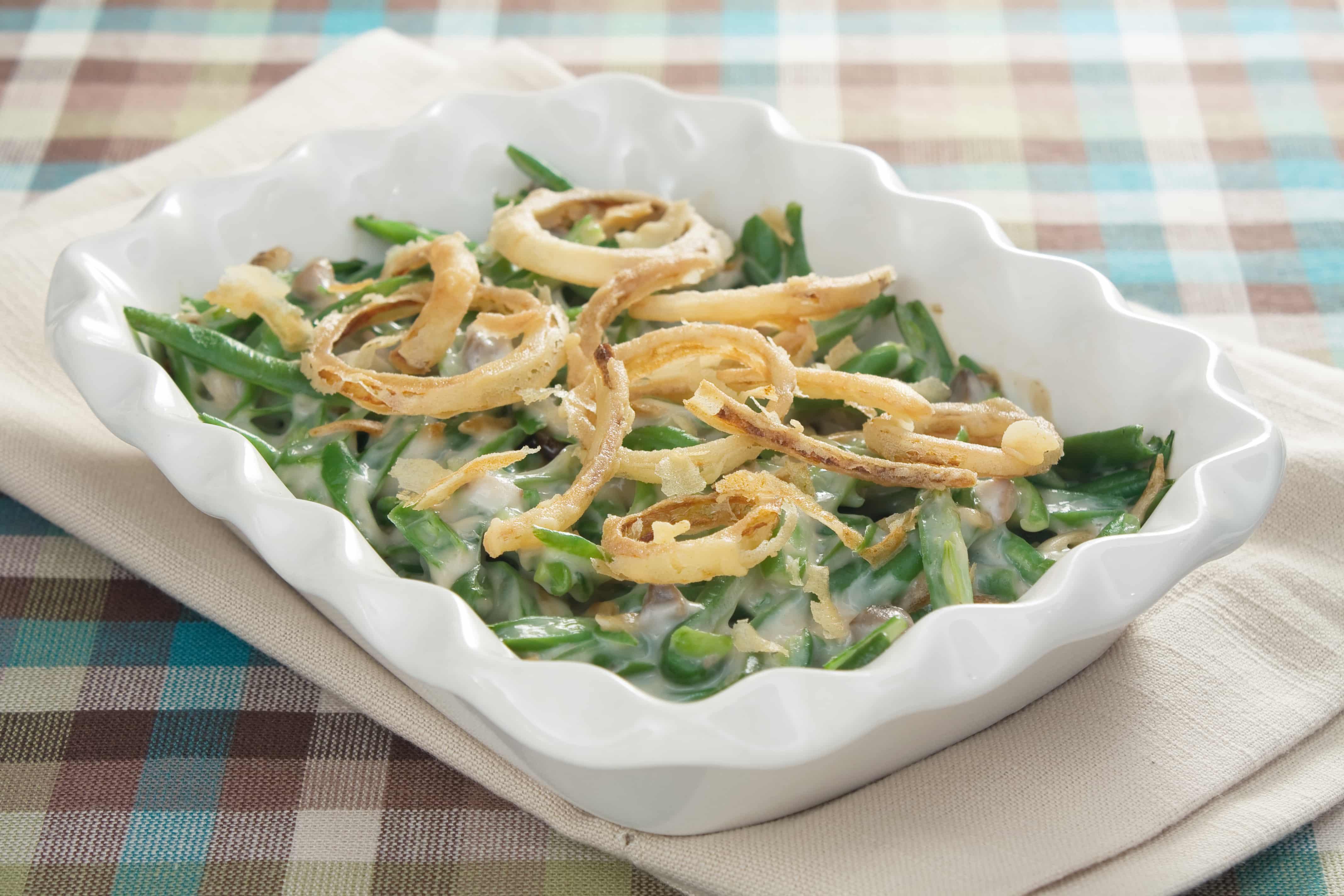 Green Bean Casserole Thanksgiving  Weight Watchers Thanksgiving Recipes