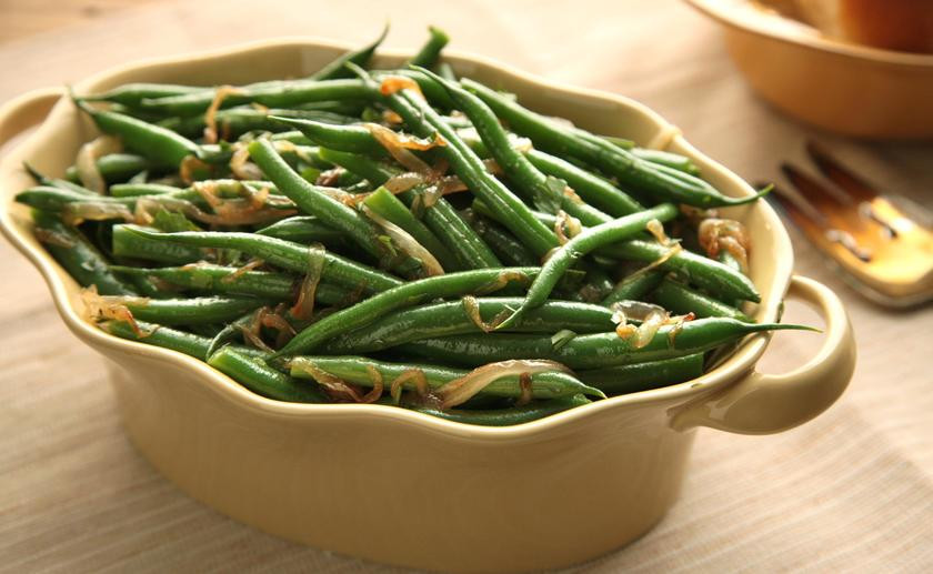 Green Bean Recipes For Thanksgiving  Basic Sautéed Green Beans Thanksgiving Ve able Sides