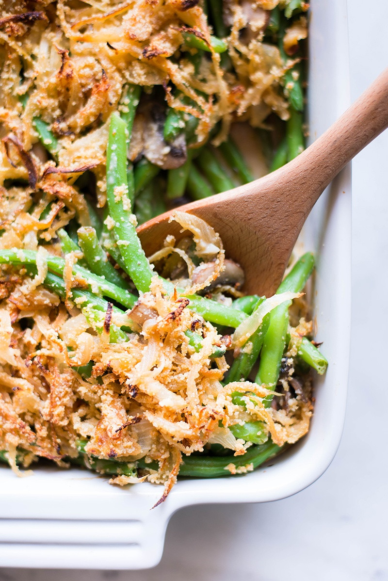 Green Bean Recipes For Thanksgiving  Healthy Green Bean Casserole