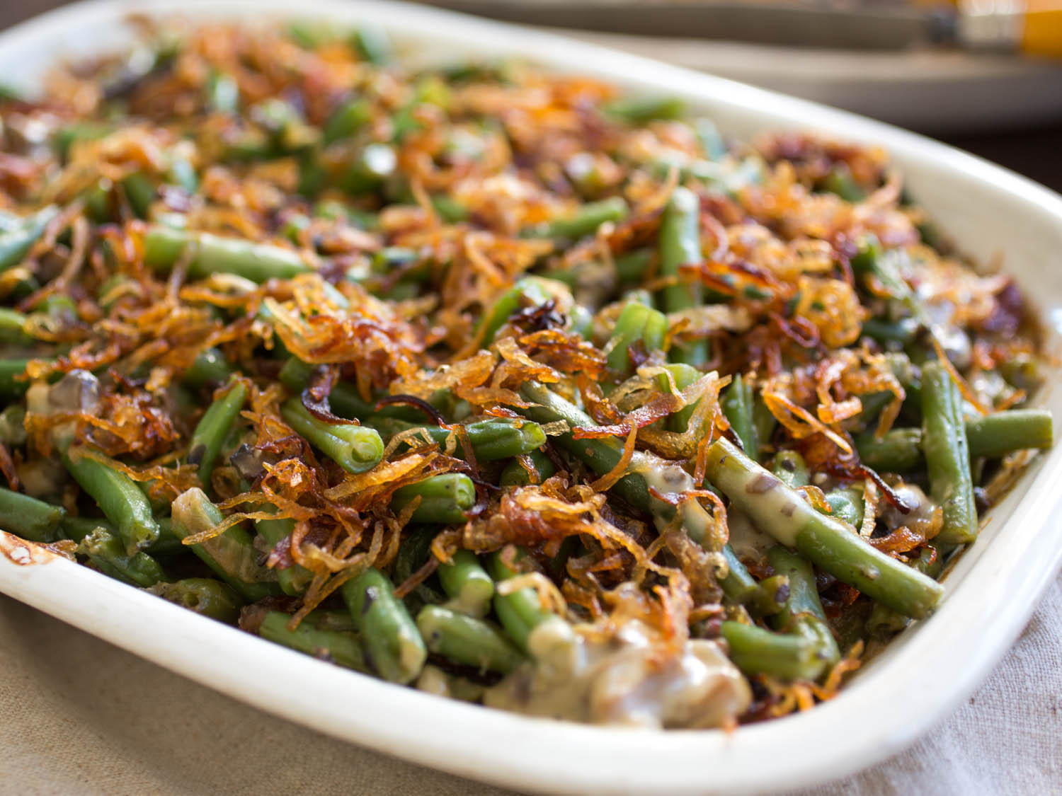 Green Bean Recipes For Thanksgiving  The Ultimate Homemade Green Bean Casserole Recipe