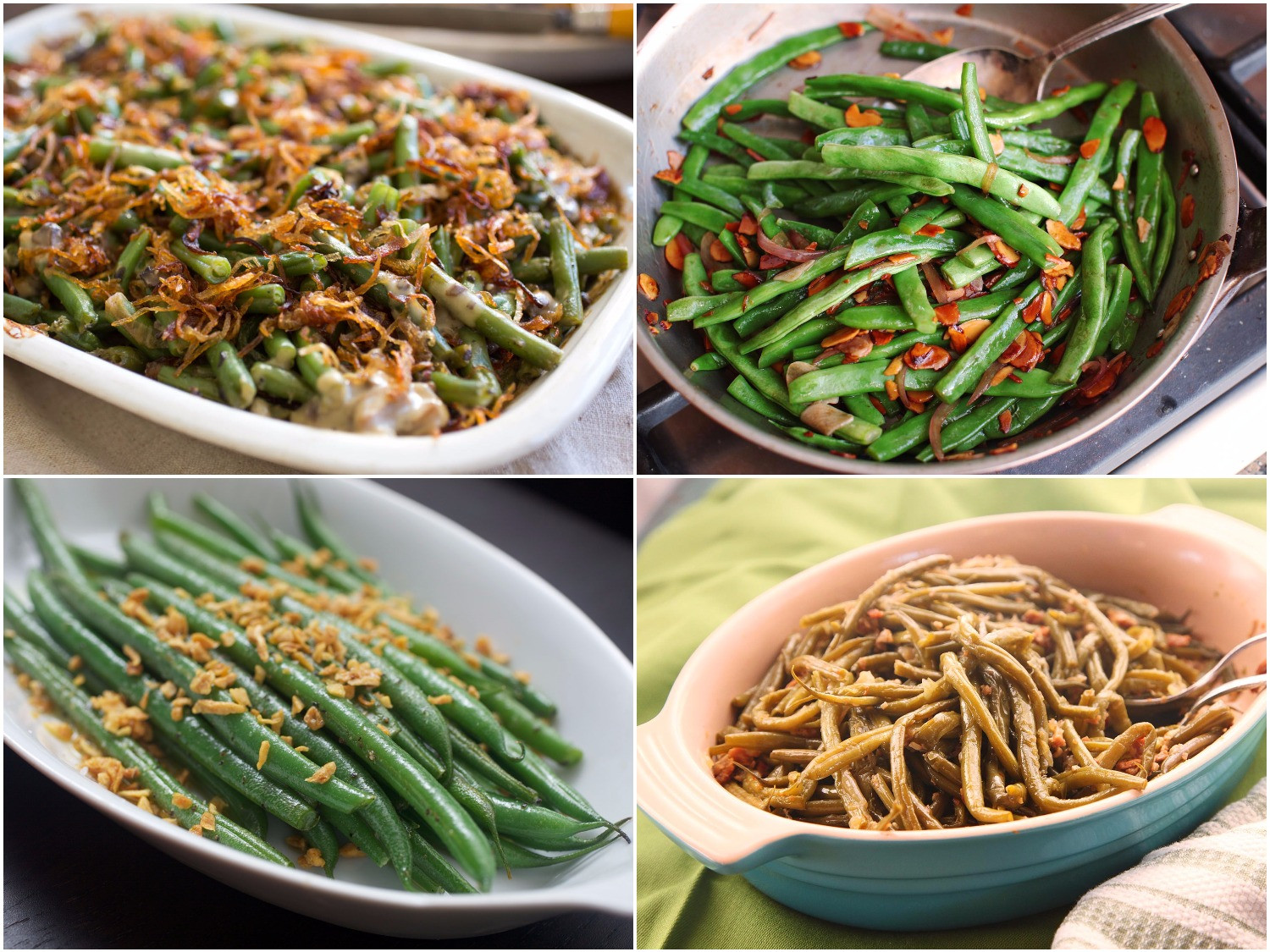 Green Bean Recipes For Thanksgiving  10 Thanksgiving Green Bean Recipes No Cans Required