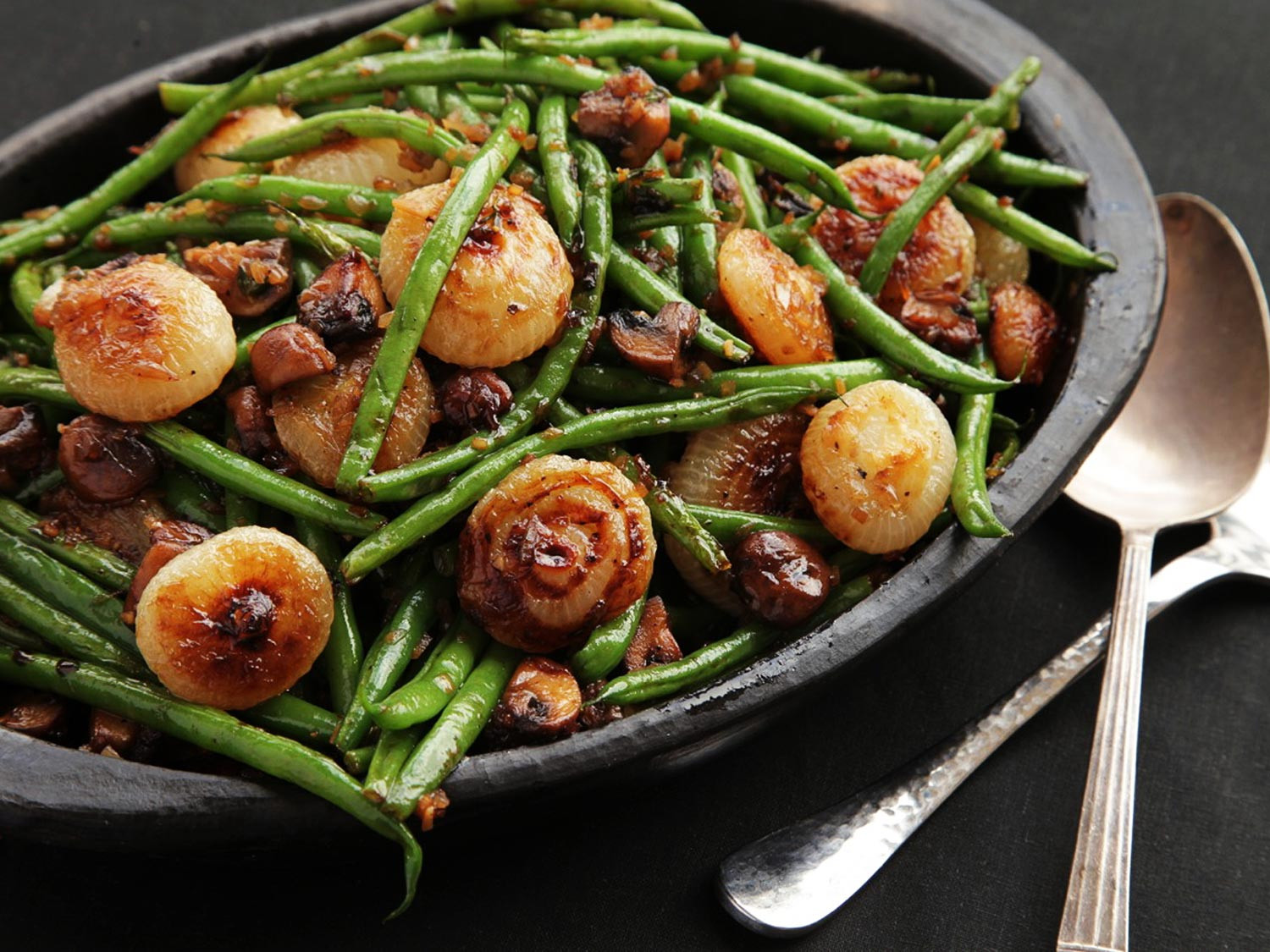 Green Bean Recipes For Thanksgiving  The Food Lab Sautéed Green Beans With Mushrooms and