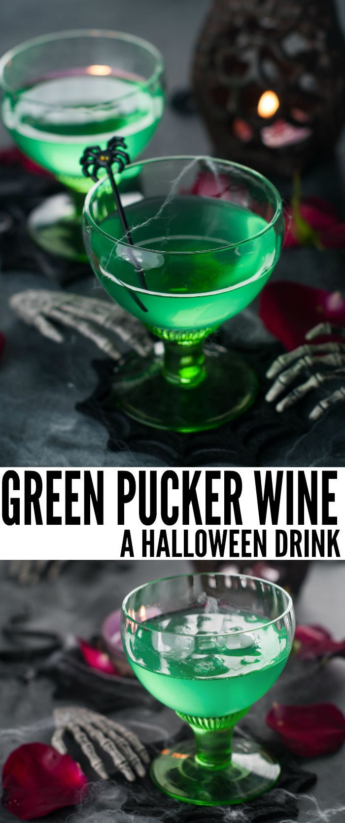 Green Halloween Drinks  73 best Halloween Food Drinks and Party Ideas images on