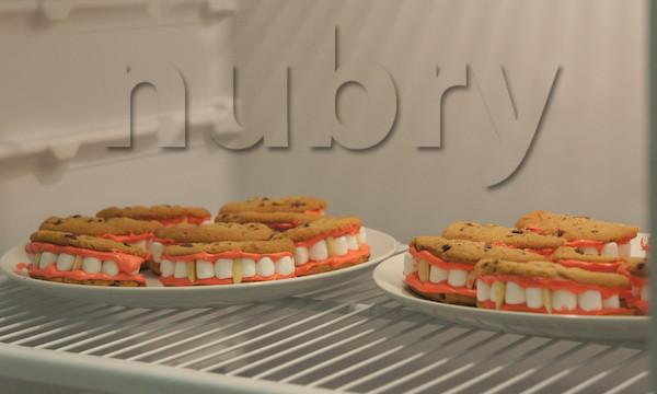 Gross Halloween Desserts  Dracula Dentures Are A Gross Halloween Treat Recipe Here