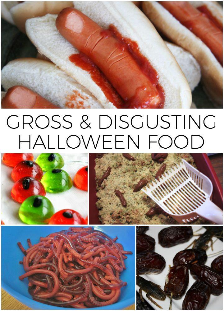 Gross Halloween Desserts  Gross Halloween Food