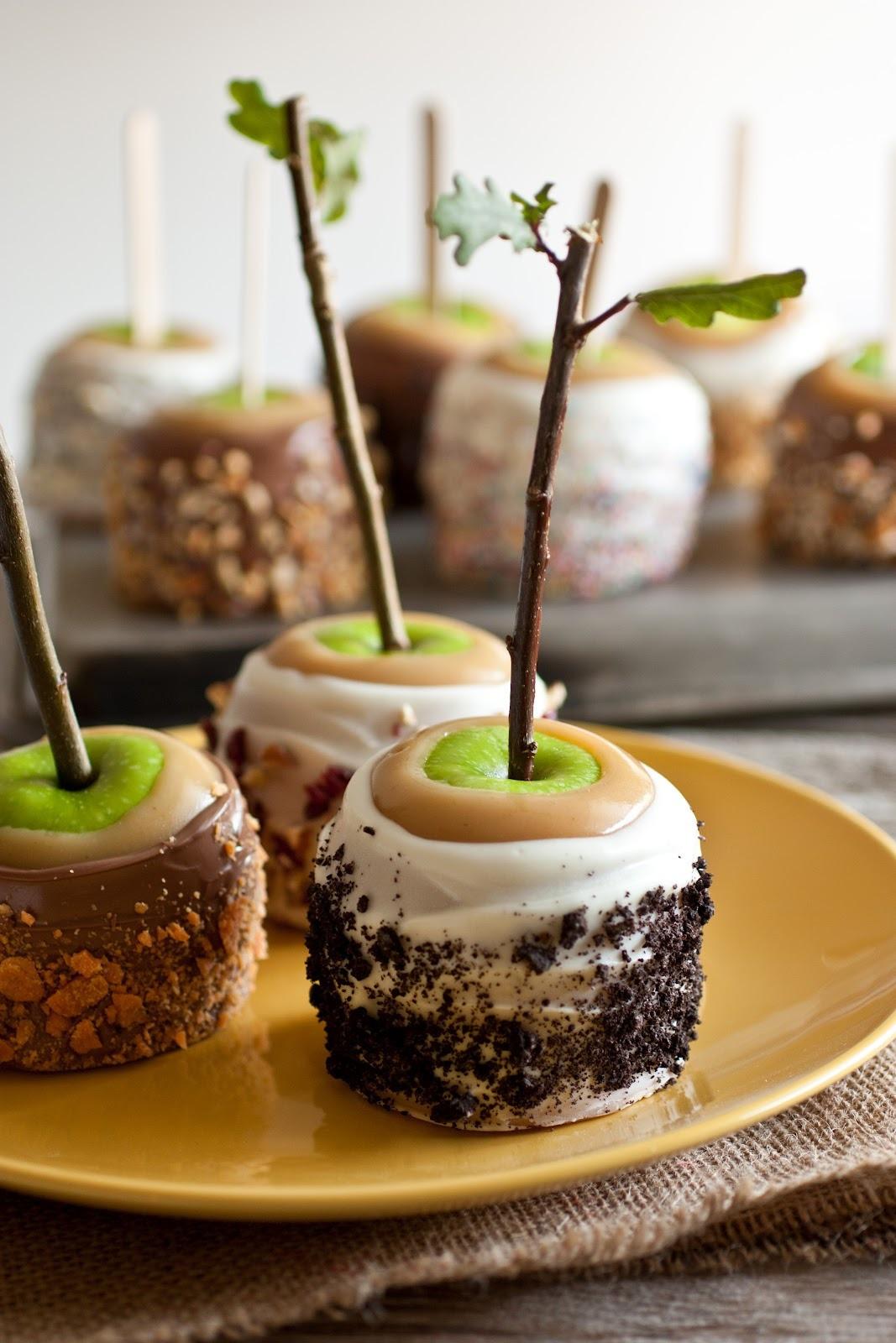 Halloween Apple Recipes  food Halloween DIY dessert fall rustic yummy yum apples