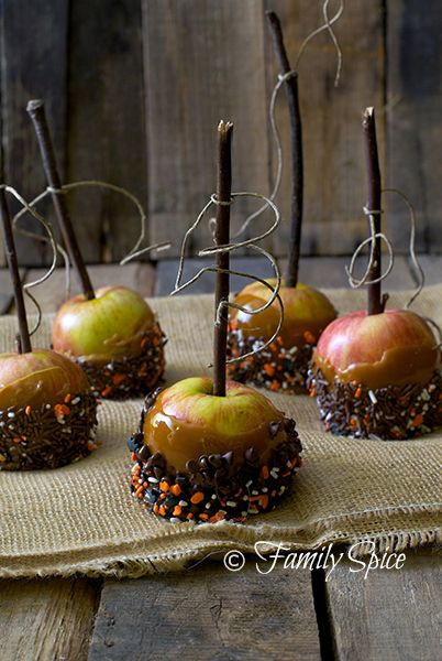 Halloween Apple Recipes  Caramel Apples Halloween Quotes QuotesGram