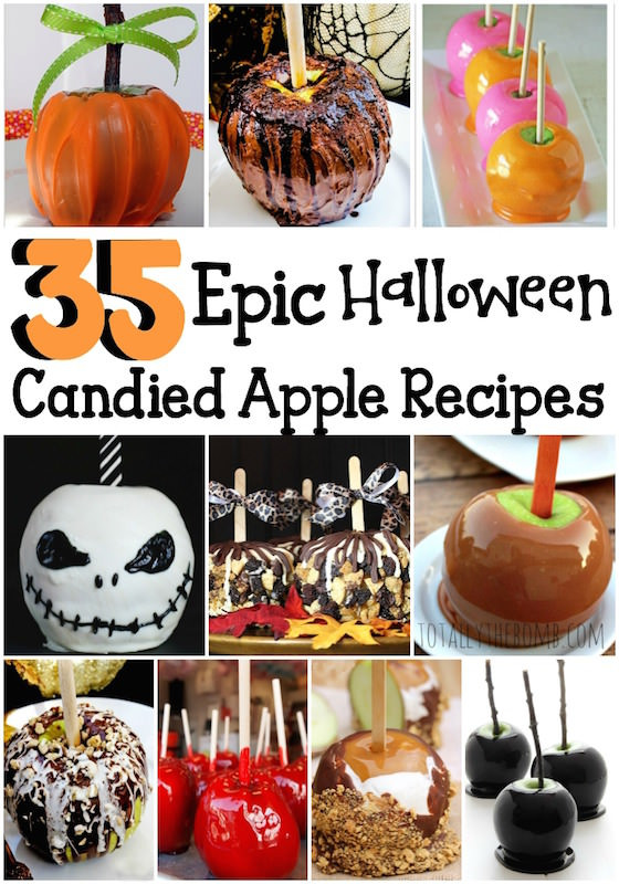 Halloween Apple Recipes  17 Candy Apple Recipes That Will Rock Your World This Fall