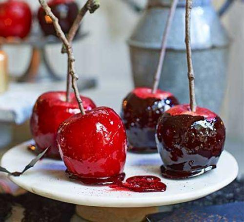 Halloween Apple Recipes  Halloween toffee apples recipe
