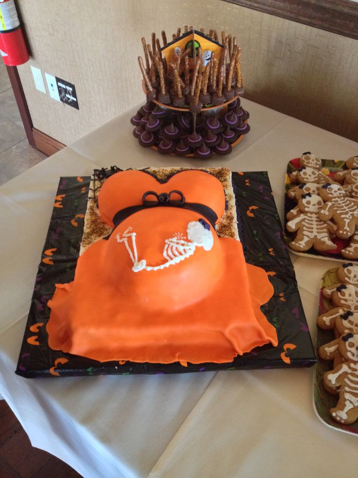 Halloween Baby Shower Cakes  Best 20 Halloween baby showers ideas on Pinterest