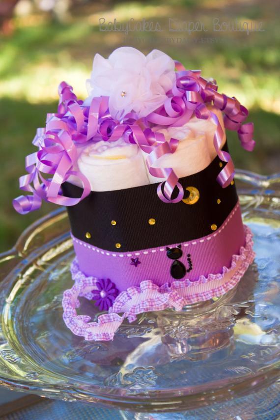 Halloween Baby Shower Cakes  Halloween Mini Diaper Cake Halloween Baby by BabyCakesByDaisy