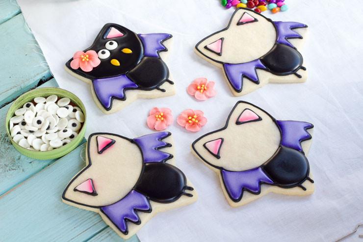 Halloween Bat Cookies  Bat Cookies for Halloween