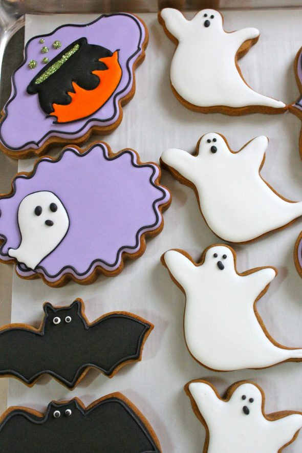 Halloween Bat Cookies  Can you use anything besides egg whites or meringue powder