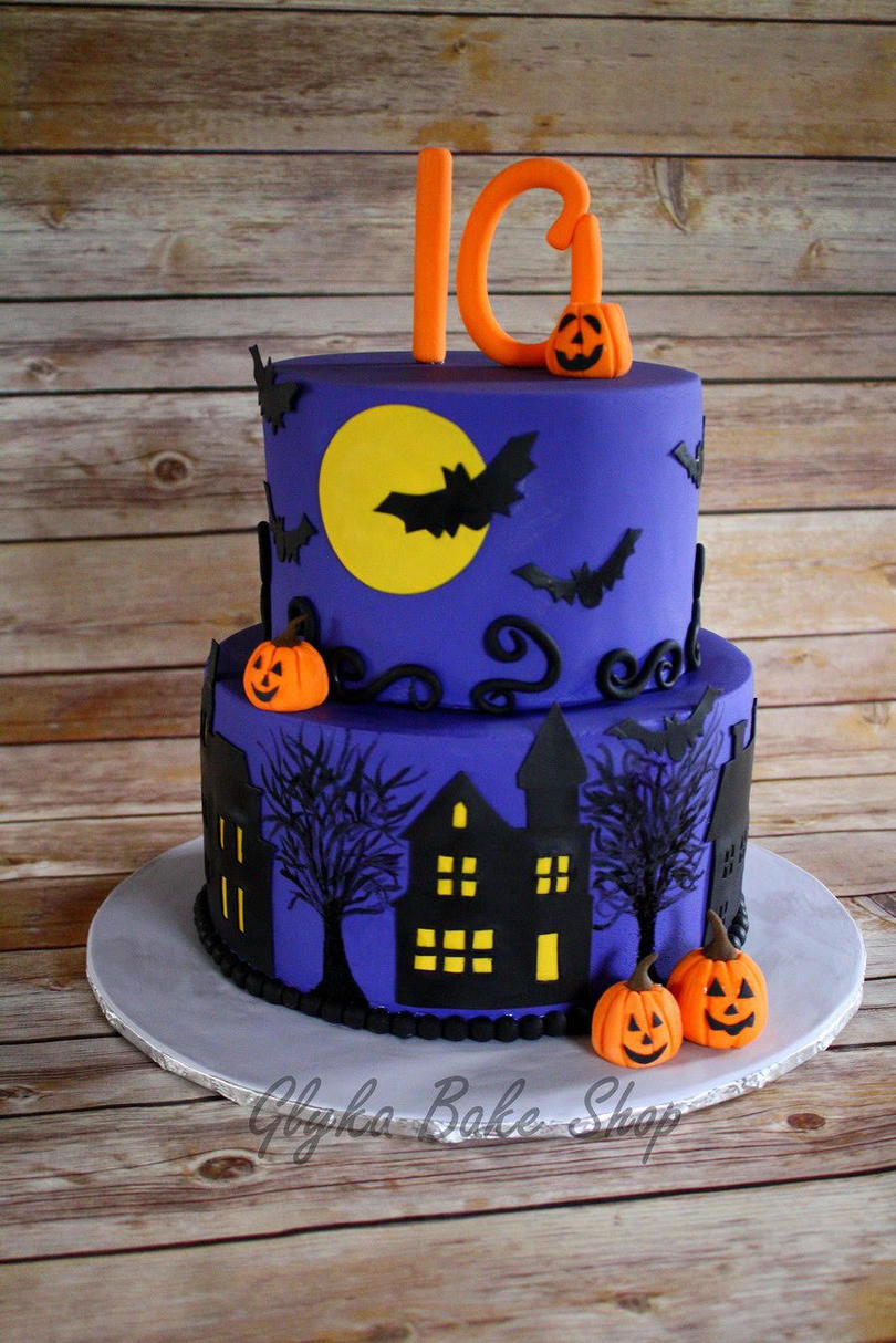Halloween Bday Cakes  13 Ghoulishly Festive Halloween Birthday Cakes Southern
