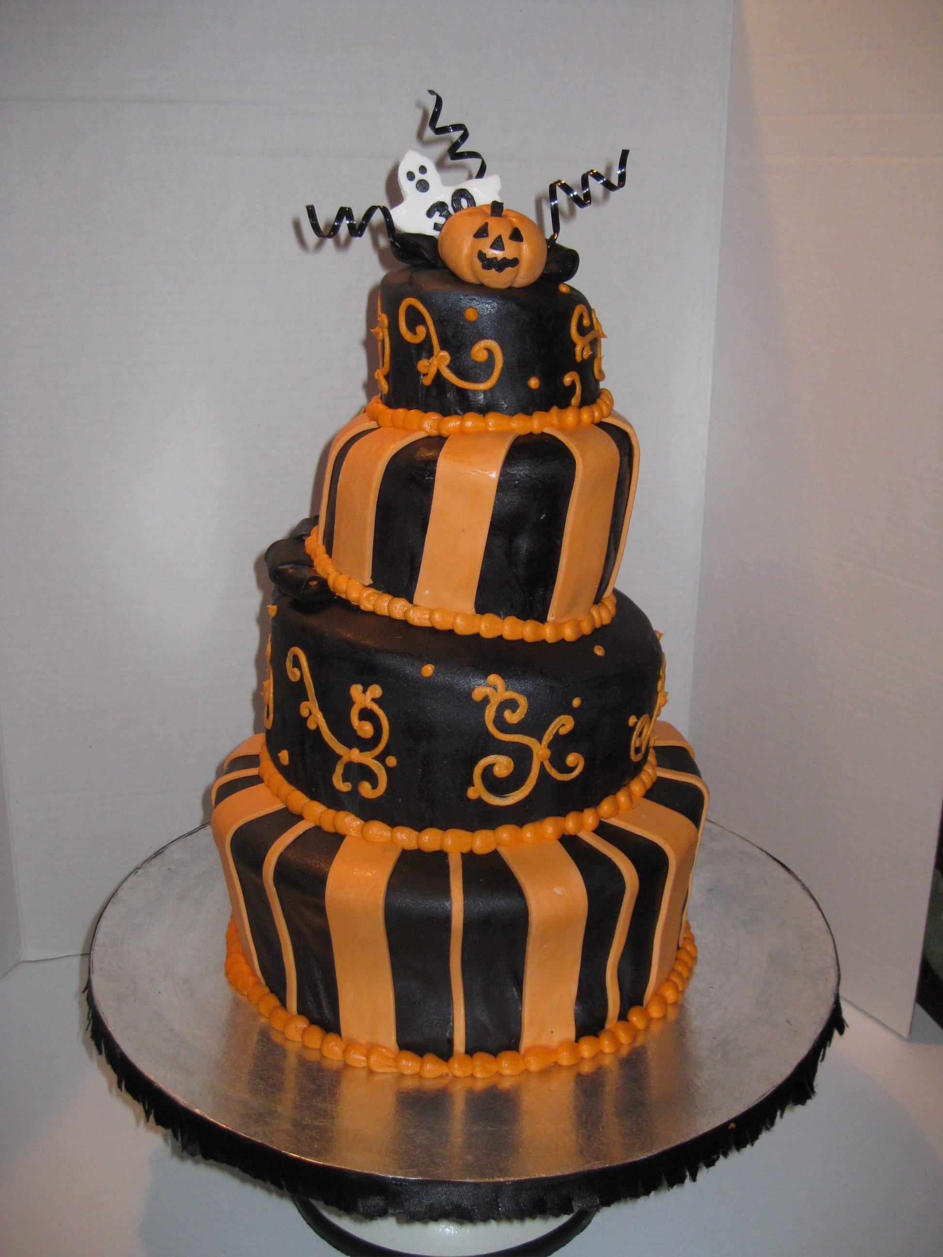 Halloween Bday Cakes  Special Occasions