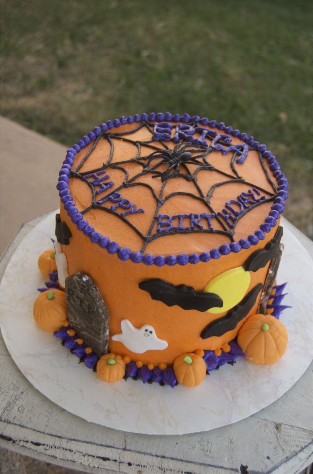Halloween Birthday Cake Ideas  Halloween birthday cake …