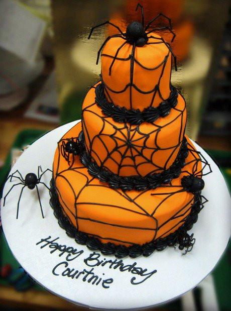 Halloween Birthday Cake Ideas  DIY Halloween Cake Ideas Party XYZ