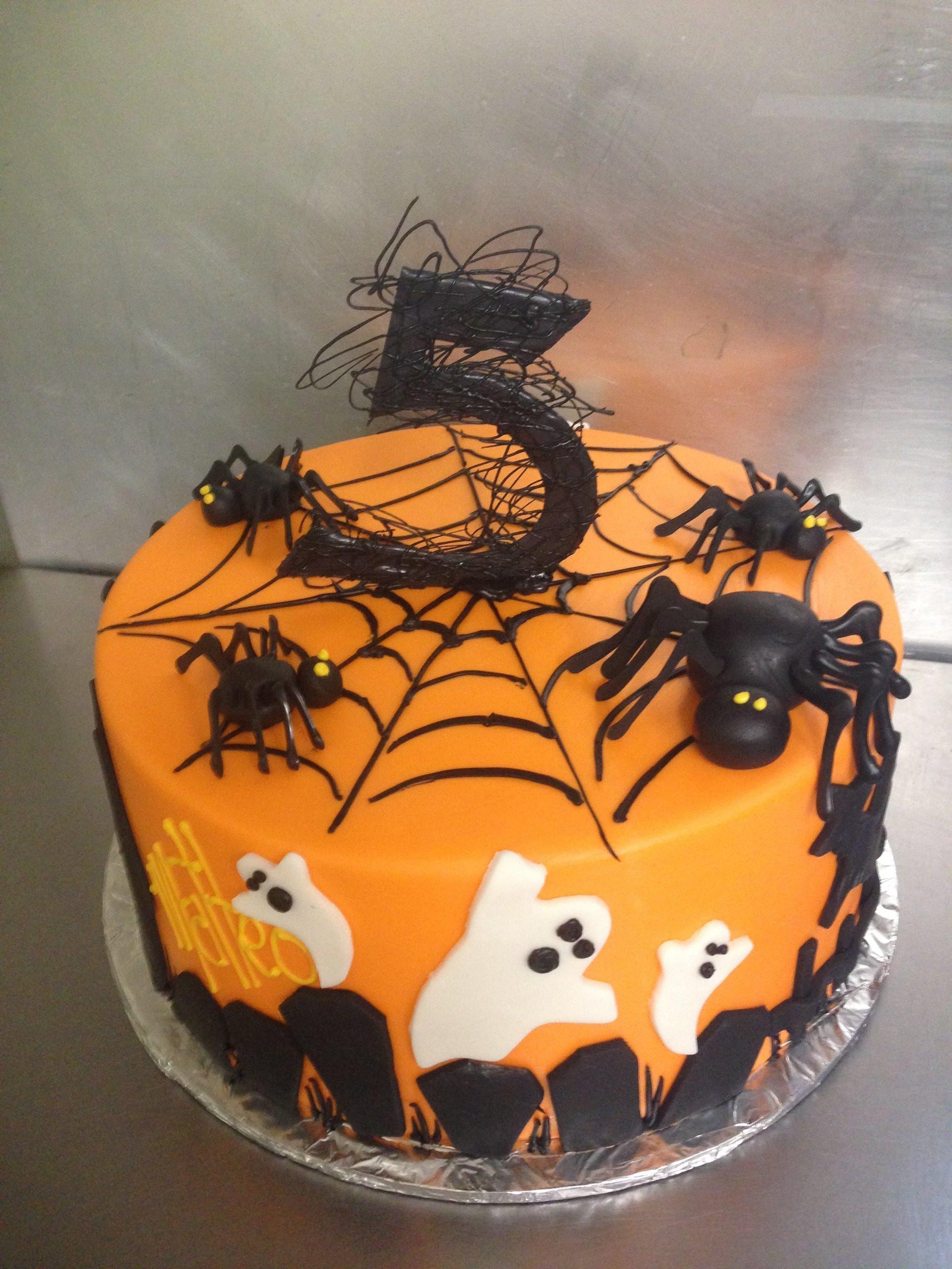 Halloween Birthday Cake Pictures  Custom Birthday Cakes