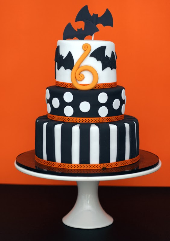 Halloween Birthday Cake Pictures  butter hearts sugar Halloween Birthday Cake