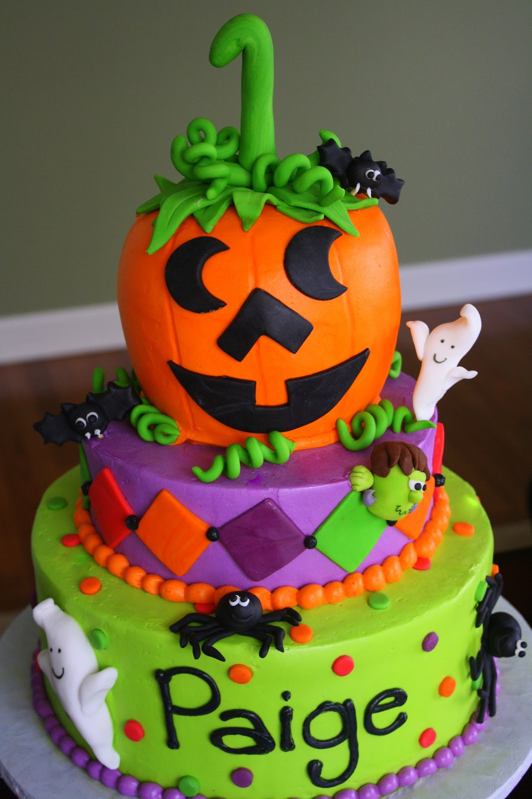 Halloween Birthday Cakes  Claudine Halloween Weekend