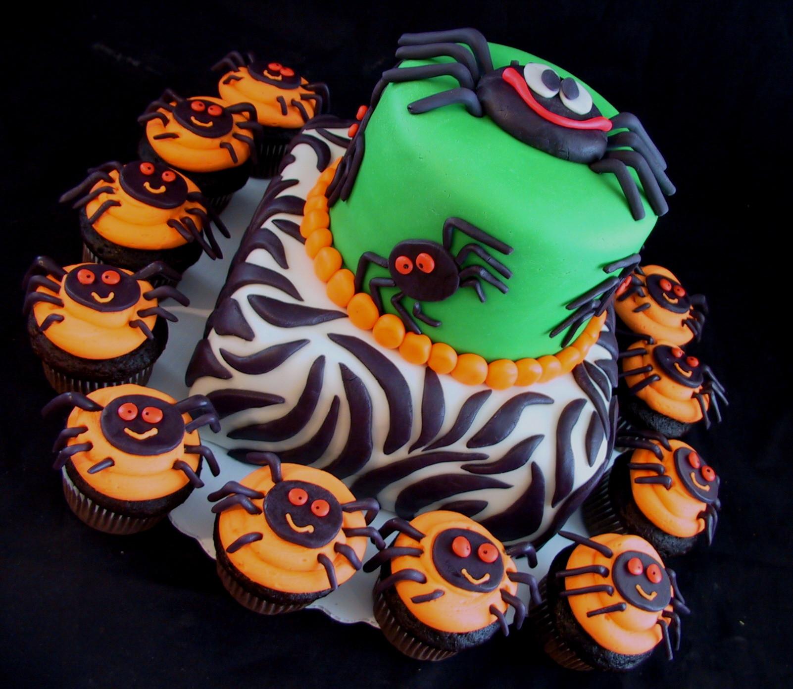 Halloween Birthday Cakes  halloween