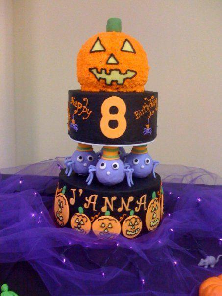 Halloween Birthday Cakes For Kids  halloween birthday cake