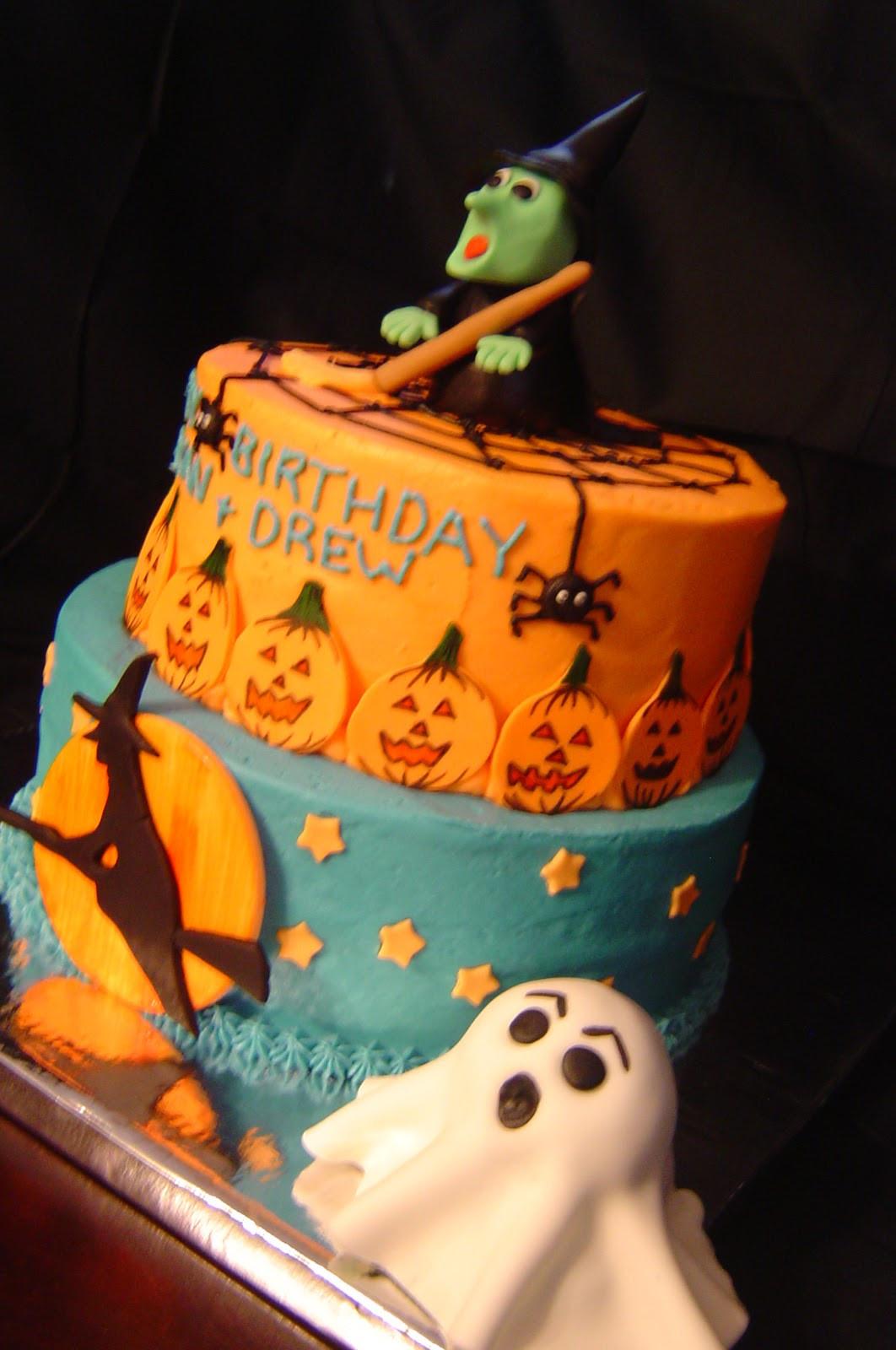 Halloween Birthday Cakes  My Cake Blog Halloween Birthday