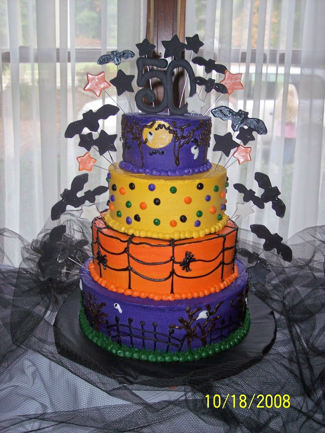 Halloween Birthday Sheet Cakes  Cakes by Amy