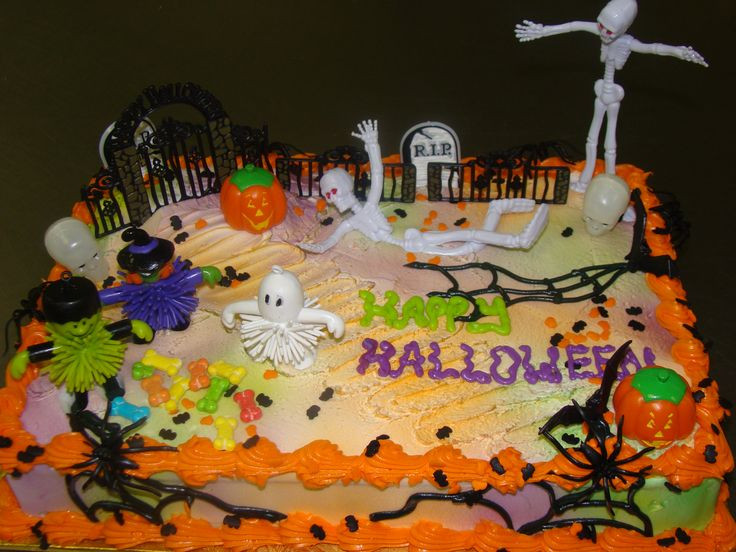 Halloween Birthday Sheet Cakes  36 best Halloween Themed Cakes Cupcakes and Cookies