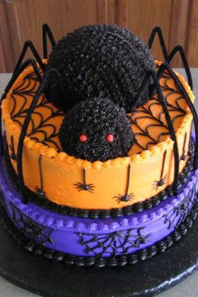 Halloween Birthday Sheet Cakes  Unbelievable Halloween Cakes from Around the Web