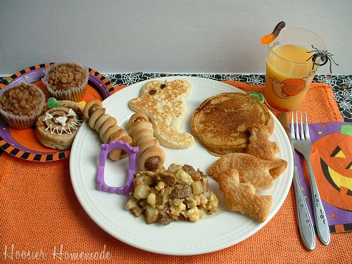 Halloween Breakfast Recipes  Halloween Breakfast Food Hoosier Homemade